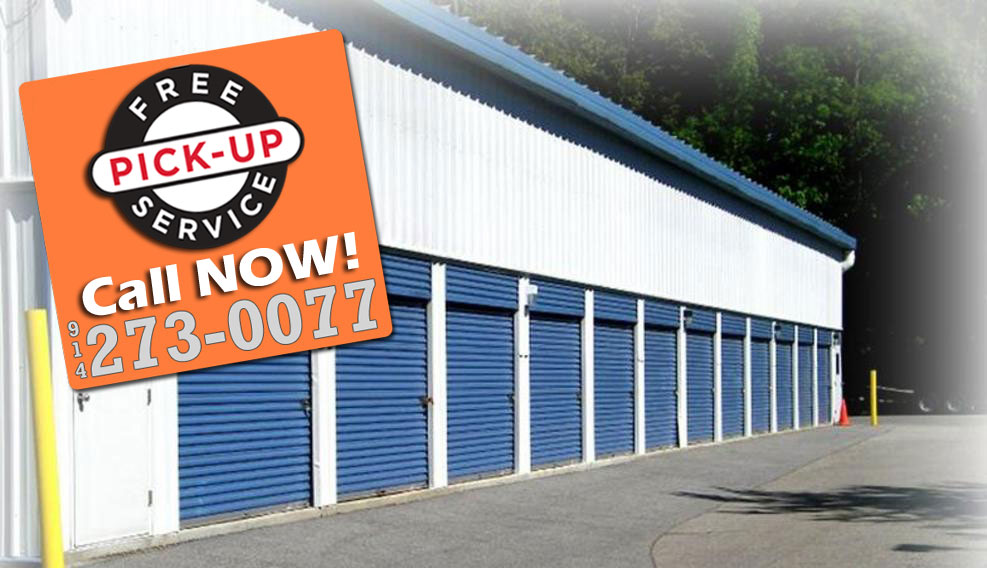Armonk Mini Self Storage Free pickup image and graphic