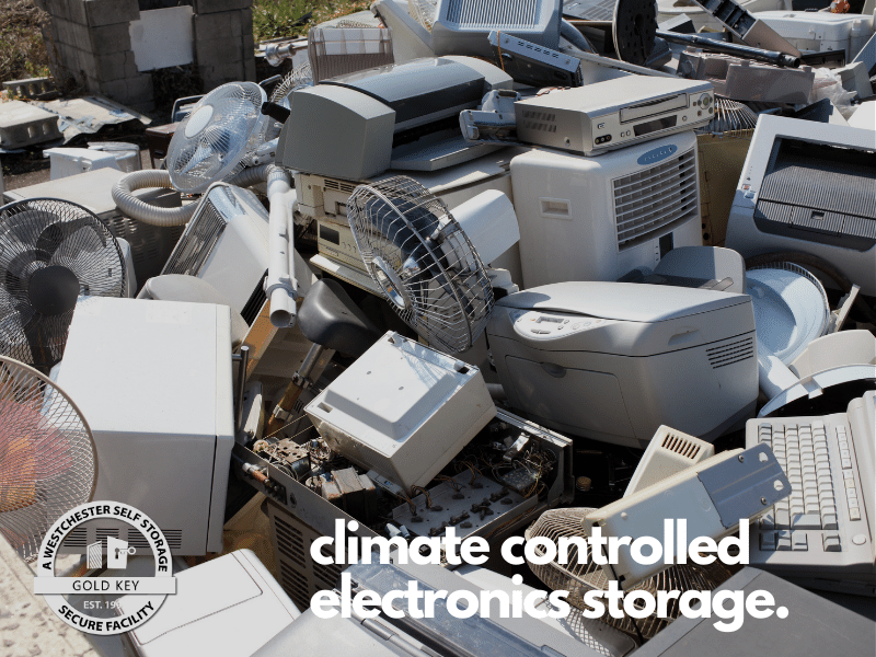 climate controlled electronics storage