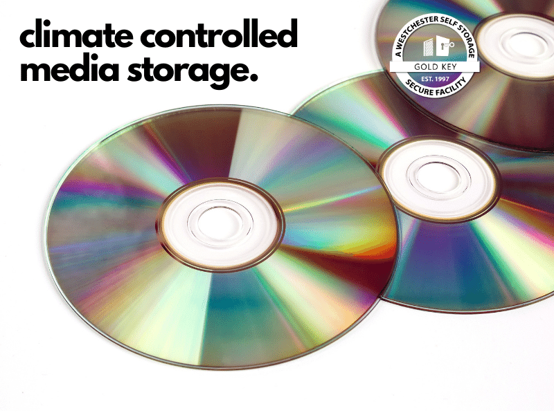 climate controlled media storage