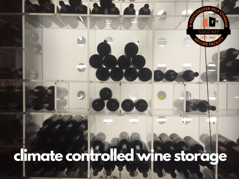 climate controlled wine storage