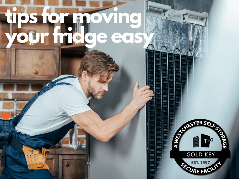 tips for moving your fridge
